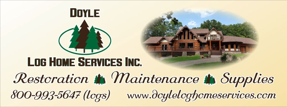 Arkansas Log Home Restoration and Maintenance